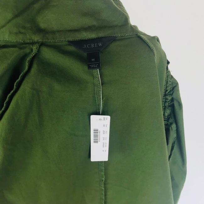 J.Crew Field Rushed Sleeve Green Jacket Image 6