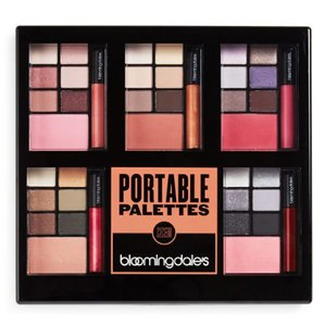 Bloomingdale's Bloomingdale's 5 Portable Make Up Palettes Eye Shadow Blush Lip Gloss