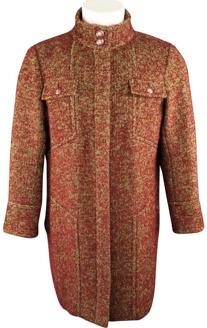 Preload https://img-static.tradesy.com/item/24286037/chanel-burgundy-and-green-textured-boucle-high-collar-supermarket-show-coat-size-16-xl-plus-0x-0-3-650-650.jpg