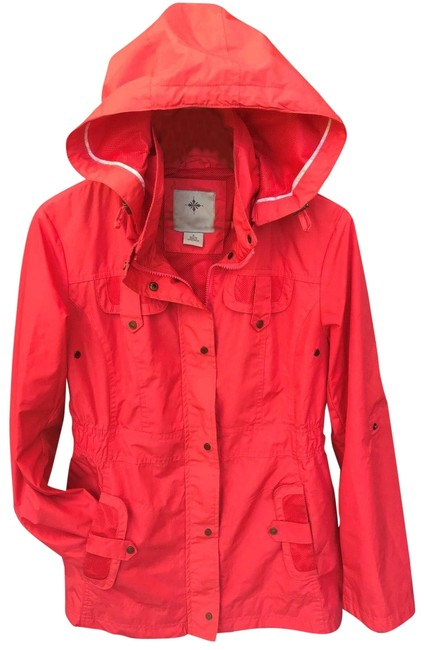 Item - Pink Jacket S Small Detachable Hooded Coat Size 4 (S)