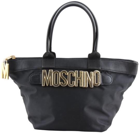 Preload https://img-static.tradesy.com/item/24286344/moschino-redwall-vintage-mini-black-nylon-tote-0-3-540-540.jpg