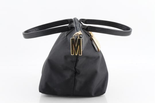 Moschino Tote in Black Image 3
