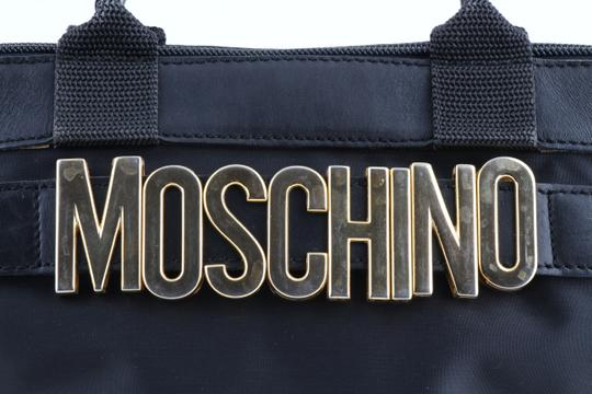 Moschino Tote in Black Image 5