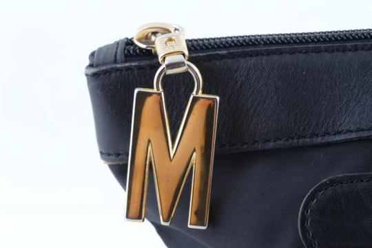 Moschino Tote in Black Image 6