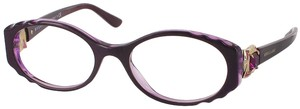 BVLGARI Bvlgari Eyeglasses Purple 5112 New Authentic Optical Frames 50mm