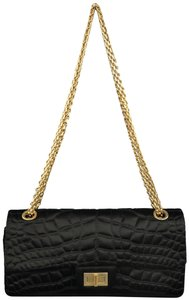 Chanel Quilted Reissue Gold Chain Shoulder Bag