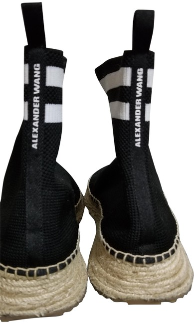 Item - Black and White Dylan Espadrille Bootie Sneakers Size EU 39 (Approx. US 9) Regular (M, B)