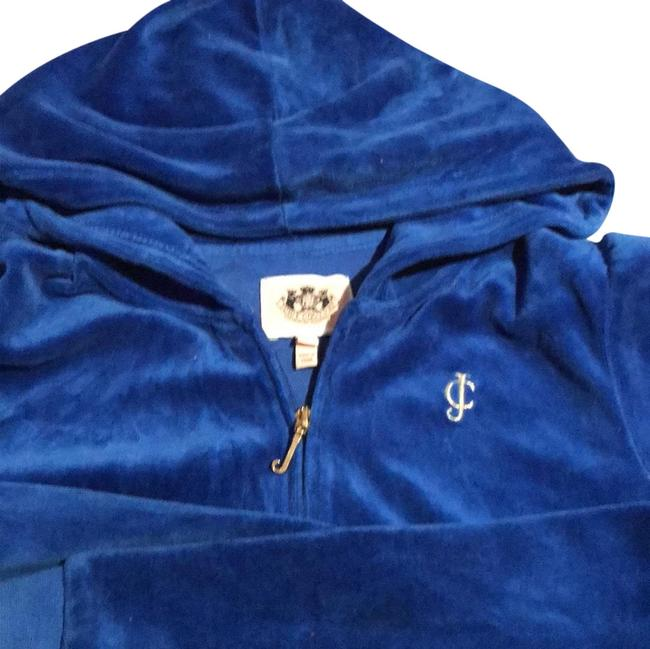 Item - Royal Blue Velour Activewear Outerwear Size OS (one size)