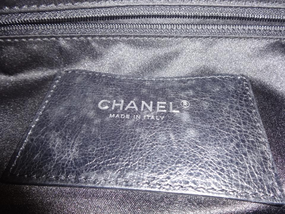 a6fdc0168a8b77 Chanel Extra Large On The Road Black Leather Tote - Tradesy