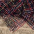 Juicy Couture Navy W/ Red Yellow White Check Printed Tulle Skirt Size 12 (L, 32, 33) Juicy Couture Navy W/ Red Yellow White Check Printed Tulle Skirt Size 12 (L, 32, 33) Image 3