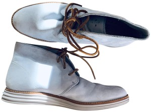 Cole Haan Chukka Lunar Grand Suede Blue Boots