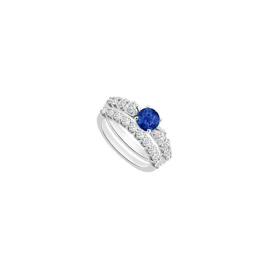 Preload https://img-static.tradesy.com/item/24287279/blue-created-sapphire-engagement-with-cubic-zirconia-wedding-ring-0-0-540-540.jpg