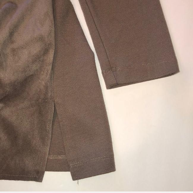 KUT from the Kloth Brown, Taupe Leather Jacket Image 7