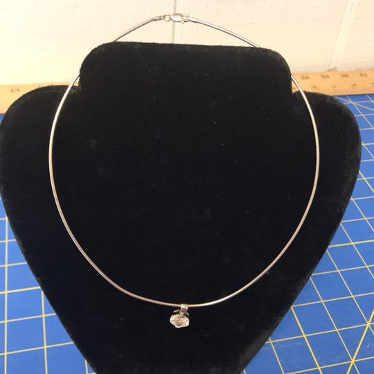 Nordstrom Sterling Silver Thin Omega Necklace NWOT Image 1