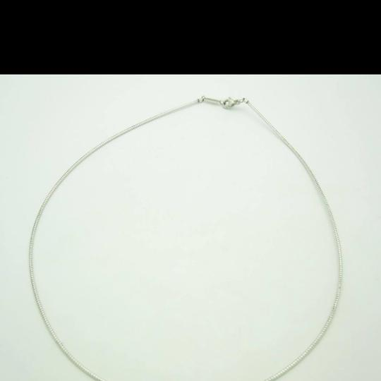 Nordstrom Sterling Silver Thin Omega Necklace NWOT Image 4