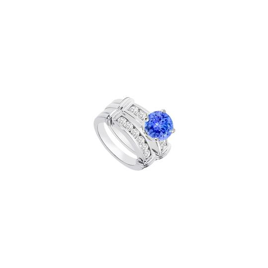Preload https://img-static.tradesy.com/item/24287407/blue-created-tanzanite-cubic-zirconia-engagement-with-wedding-band-set-ring-0-0-540-540.jpg
