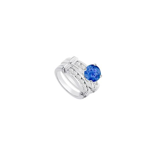 Preload https://img-static.tradesy.com/item/24287441/blue-created-sapphire-cubic-zirconia-engagement-with-wedding-band-sets-ring-0-0-540-540.jpg
