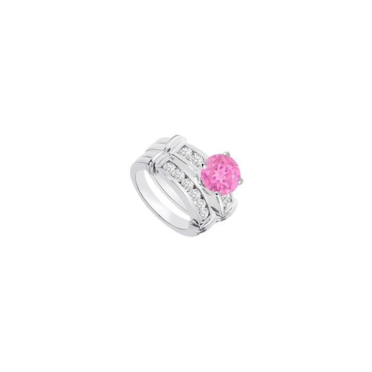 Preload https://img-static.tradesy.com/item/24287447/pink-created-sapphire-cubic-zirconia-engagement-with-wedding-band-ring-0-0-540-540.jpg