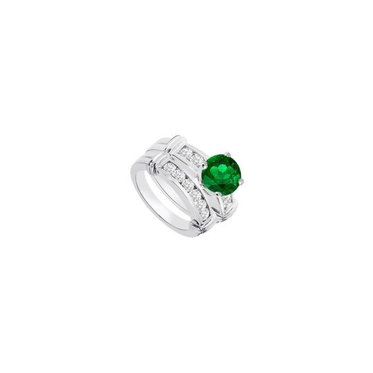 Preload https://img-static.tradesy.com/item/24287453/green-created-emerald-cubic-zirconia-engagement-with-wedding-band-sets-ring-0-0-540-540.jpg