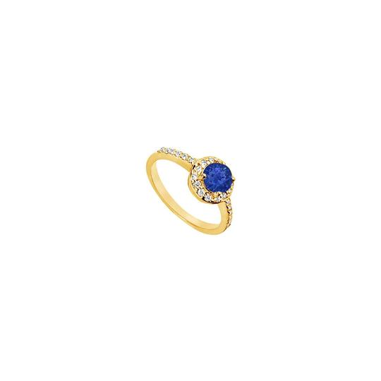 Preload https://img-static.tradesy.com/item/24287486/blue-created-sapphire-and-cubic-zirconia-engagement-yellow-gold-vermei-ring-0-0-540-540.jpg