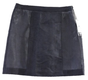 Worthington Mini Skirt Black, White