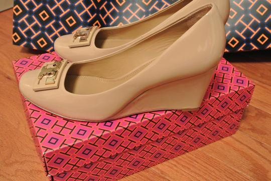 Tory Burch Grey Wedges Image 1