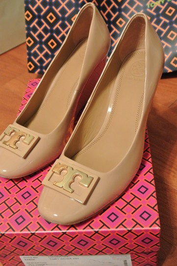 Tory Burch Grey Wedges Image 2
