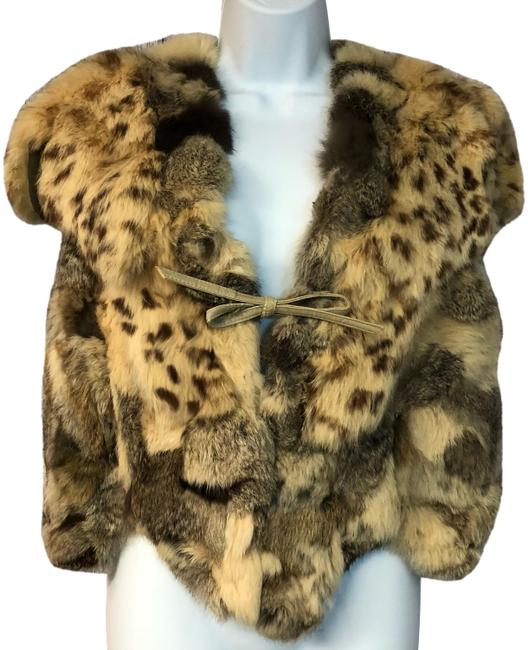 Preload https://img-static.tradesy.com/item/24287693/brown-multi-color-dyed-rabbit-fur-sleeveless-winter-top-blouse-m-jacket-size-8-m-0-1-650-650.jpg