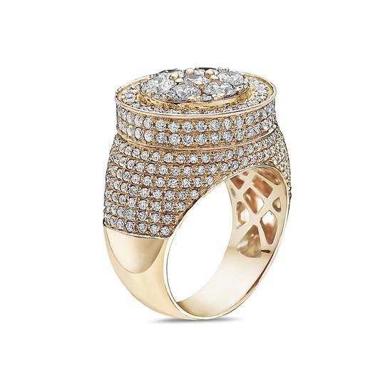 OMI Jewelry Men's 14K Yellow Gold Ring with 5.30 CT Diamonds Image 1