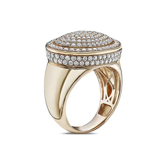 OMI Jewelry Men's 14K Yellow Gold Ring with 2.66 CT Diamonds Image 1