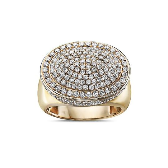 OMI Jewelry Men's 14K Yellow Gold Ring with 2.66 CT Diamonds Image 2