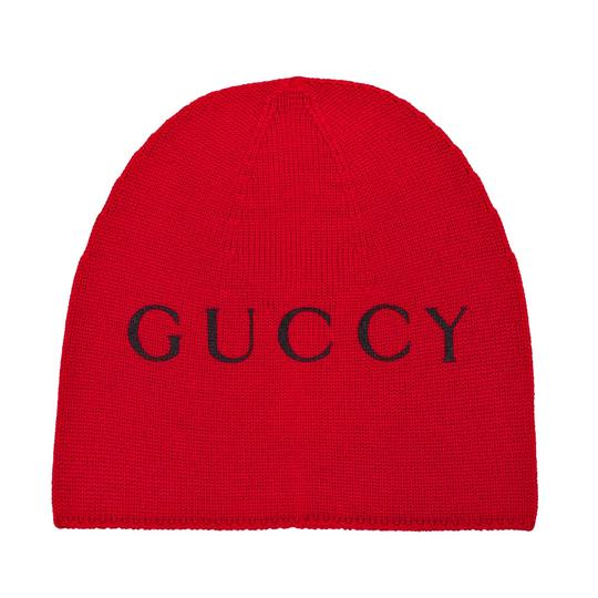 Preload https://img-static.tradesy.com/item/24287879/gucci-red-beanie-with-cat-print-size-m-hat-0-0-540-540.jpg