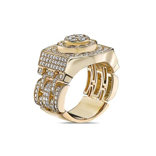OMI Jewelry Men's 14K Yellow Gold Ring with 3.05 CT Diamonds Image 1