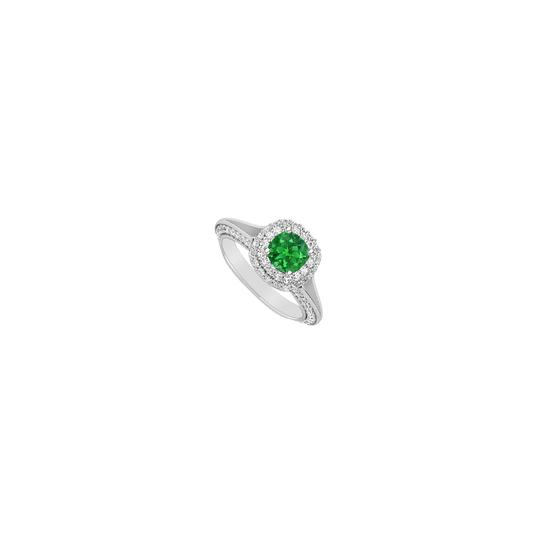 Preload https://img-static.tradesy.com/item/24287909/green-may-birthstone-created-emerald-cubic-zirconia-halo-engagement-in-ring-0-0-540-540.jpg