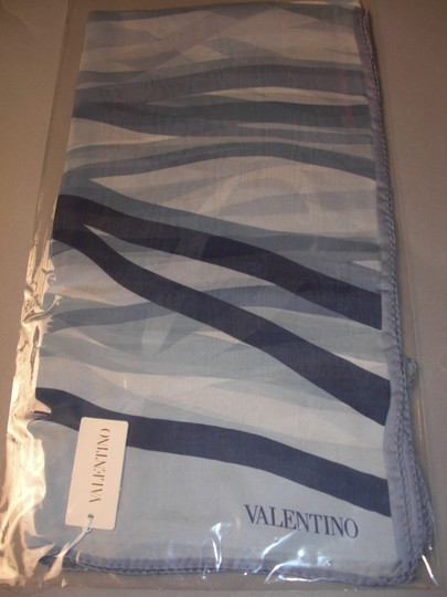 Valentino Nautical, Yacht or Country Club, May Day Couture Silk Satin Stole Wrap Image 3
