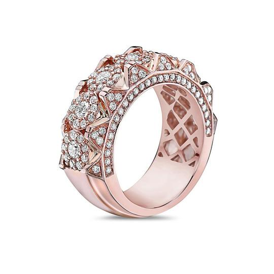 OMI Jewelry Men's 14K Rose Gold Anniversary Band with 2.35 CT Diamonds Image 1