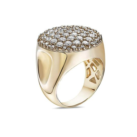 Joey O Men's 14K Yellow Gold Ring with 3.30 CT Diamonds Image 1
