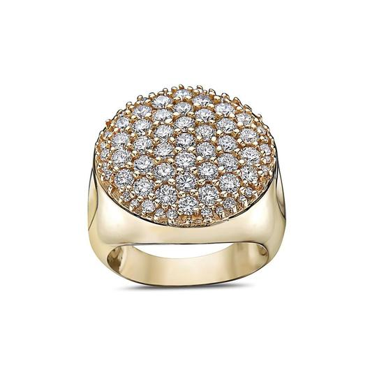 Joey O Men's 14K Yellow Gold Ring with 3.30 CT Diamonds Image 2