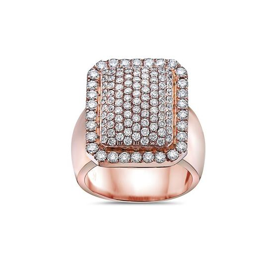 OMI Jewelry Men's 14K Rose Gold Ring with 2.57 CT Diamonds Image 2