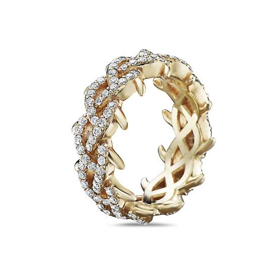 OMI Jewelry Men's 14K Yellow Gold Eternity Band with 2.75 CT Diamonds Image 1