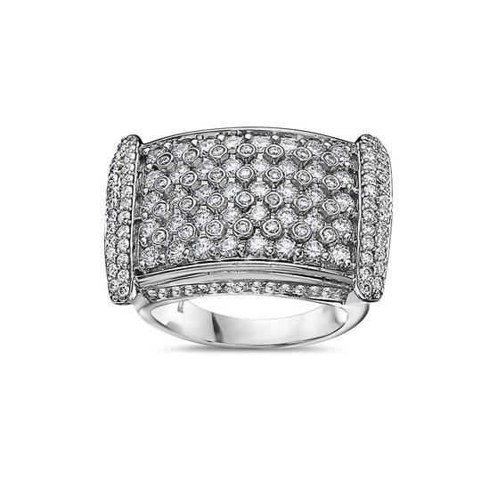 OMI Jewelry Men's 14K White Gold Ring with 4.75 CT Diamonds Image 2