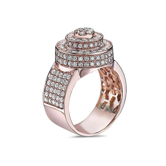 OMI Jewelry Men's 14K Rose Gold Ring with 2.51 CT Diamonds Image 1