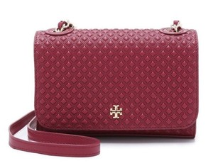 Tory Burch Mini Quilted Leather Cross Body Bag