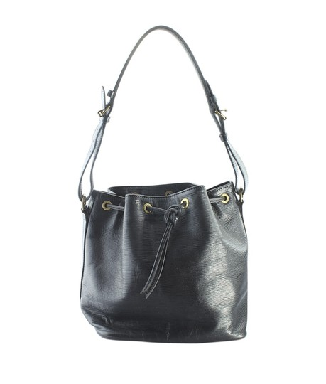 Louis Vuitton Leather Tote in Black Image 0