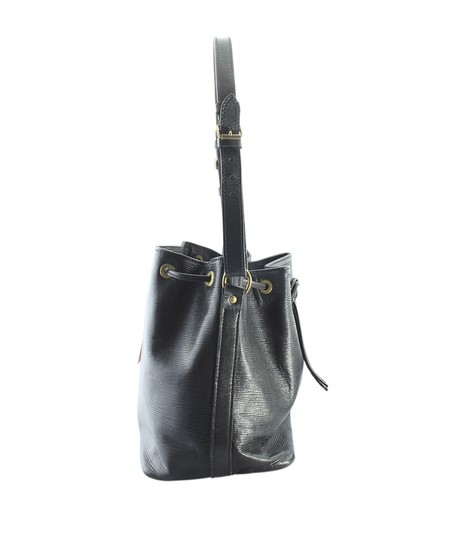 Louis Vuitton Leather Tote in Black Image 3