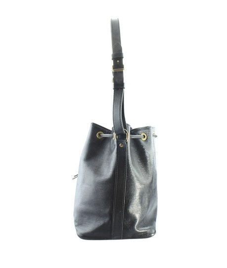 Louis Vuitton Leather Tote in Black Image 4