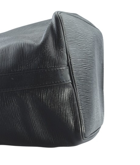 Louis Vuitton Leather Tote in Black Image 6