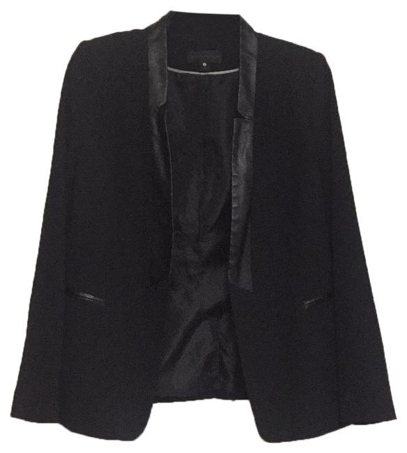 Preload https://img-static.tradesy.com/item/24288617/worthington-black-blazer-size-petite-12-l-0-3-650-650.jpg