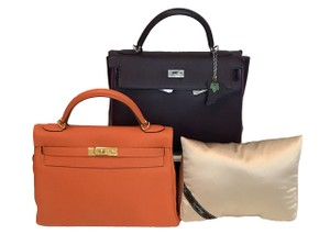 Bag-a-Vie Bag-a-Vie Made To Fit Hermes kelly 32 Purse Pillow Handbag Shaper