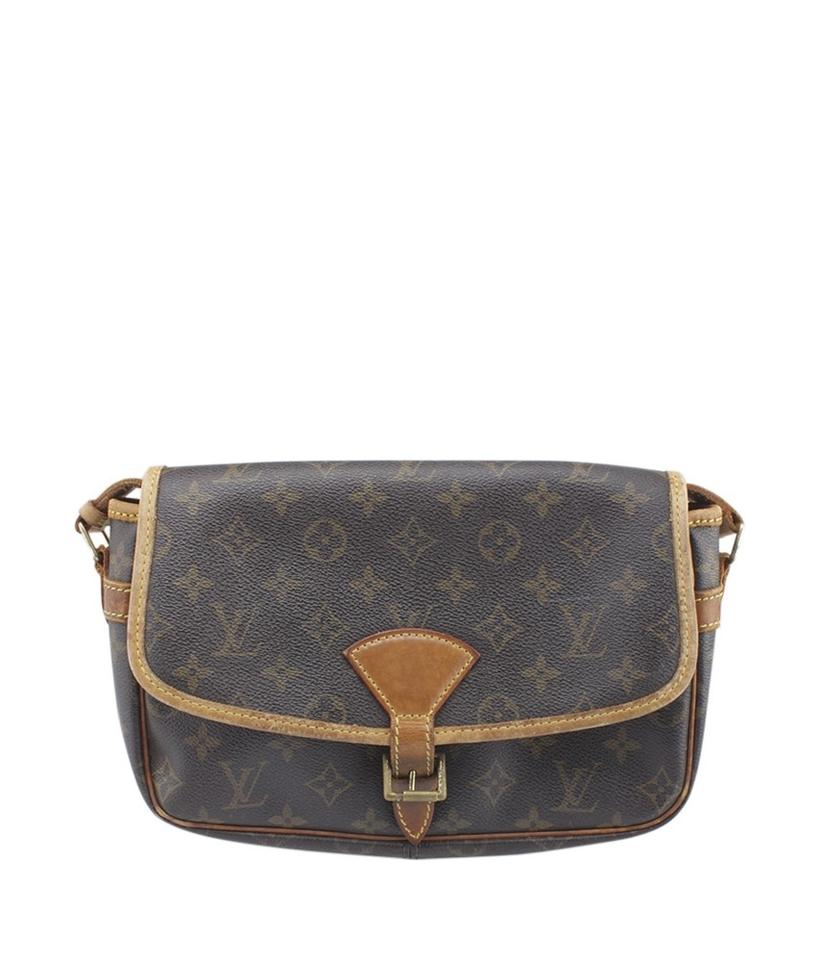 9d2fbab6a624 Louis Vuitton Sologne M42250 Monogram (159443) Brown Coated Canvas ...